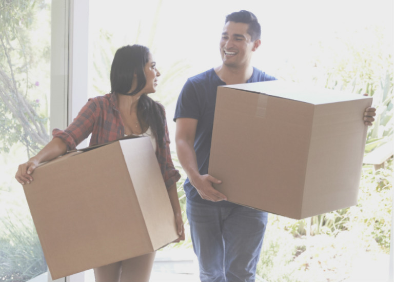 moving into your new home in texas